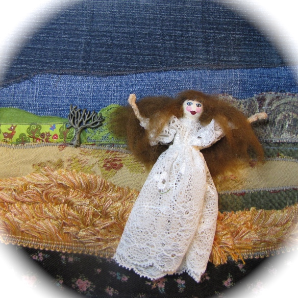 Kate Bush Peg Doll